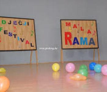 """Prijavite se na audiciju za Dječji festival """"Mala Rama 2017."""""""