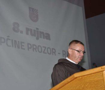 Govor fra Mate Topića, dekana Ramskog dekanata na svečanoj sjednici OV Prozor-Rama 6. rujna 2017.
