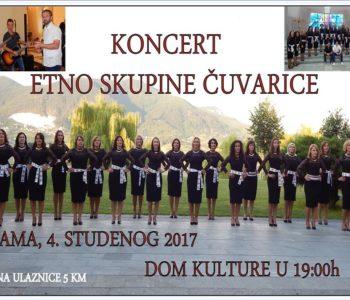 """Koncert Etno skupine """"Čuvarice"""""""