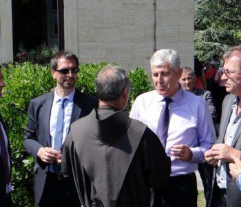 Dragan Čović posjetio Središnju Bosnu i franjevački samostan Rama-Šćit