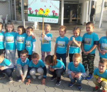 Foto: Cicibani na Malim olimpijskim igrama u Mostaru