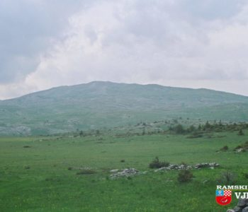 Naselja u visokim poljima između Raduše, Ljubuše i Vran planine
