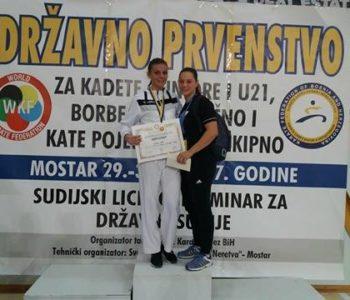 Anita Tadić, državna prvakinja u karateu – Nastavljam s treninzima i borbama