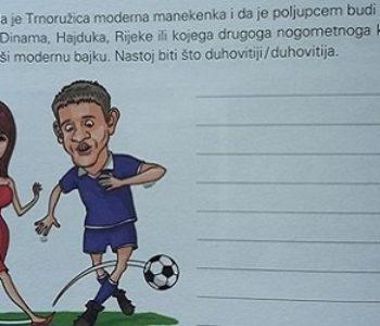 Ovo uče hrvatski školarci: 'Zamisli da je Trnoružica manekenka i da je poljupcem ljubi nogometna nada Dinama ili Hajduka…'