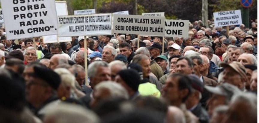 Vlada prihvatila zahtjeve umirovljenika