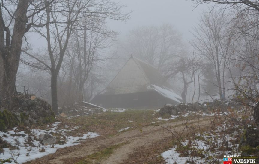 Kad magle stanu, a  ptice utihnu