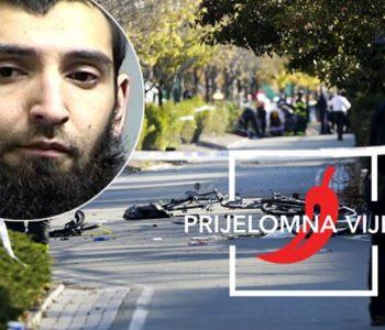 TERORIZAM U NEW YORKU Objavljene fotografije napadača koji je ubio osam ljudi, iza sebe ostavio jezive poruke