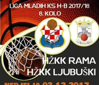Ramske košarkašice u nedjelju protiv Ljubuškog