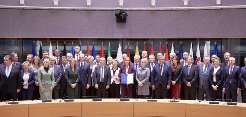 Ministri 23 zemlje EU potpisali sporazum o trajnoj suradnji na polju obrane