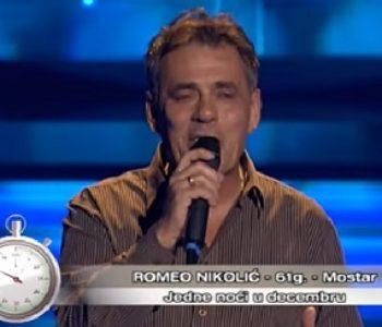 """Svi plakali u """"Nikad nije kasno"""" zbog mostarskog pjevača"""