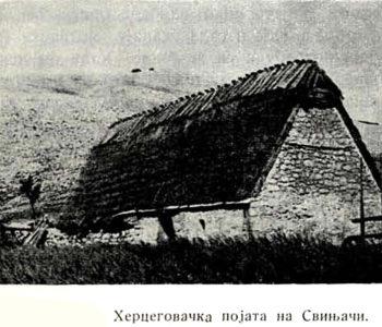 Jovo Popović (1937.): Naselja u visokim poljima između Raduše, Ljubuše i Vran planine