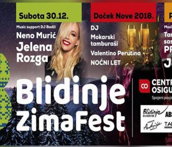 Novogodišnji spektakl: Jelena Rozga i Jole na 'Blidinje Zima Festu'
