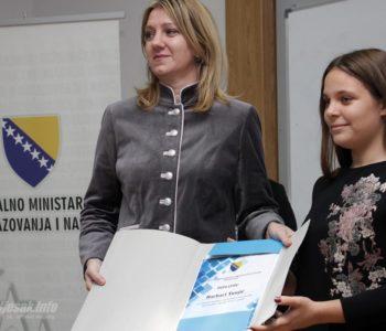 Nagrađena 54 najbolja učenika u Federaciji BiH