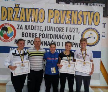 Karate: Rajič i Tadići na popisu reprezentacije BiH za EP 2018.