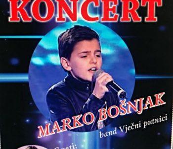 Jeste li već osigurali mjesto za koncert Marka Bošnjaka i prijatelja?