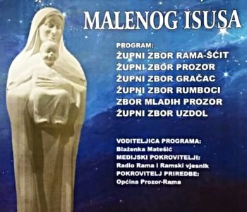 Koncert ramskih župa: S pjesmom dočekajmo Malenog Isusa