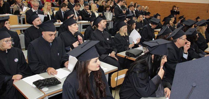 Promocija novih 55 doktora znanosti na Sveučilištu u Mostaru