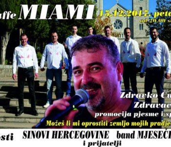 Večeras u Prozoru promocija nove pjesme Zdravka Čurića