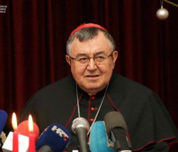 Kardinal Puljić: Mir stanuje tamo gdje je Bog