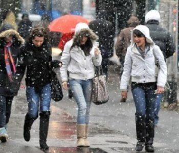 U subotu i nedjelju temperature niže i do 10 stupnjeva, snijeg i orkanski vjetar