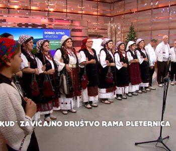 """Video: KUD Zavičajno društvo """"Rama"""" Pleternica na HTV-u"""