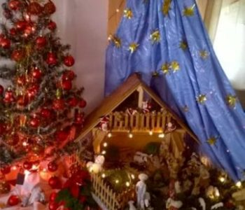 Božićna čarolija u domu Zore Marić