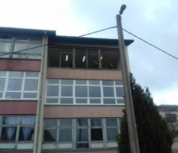 Nova stolarija na zgradi Osnovne škole fra Jeronima Vladića Ripci