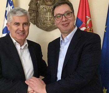 Čović opet otišao u Beograd kod Vučića dogovarati se oko sajma