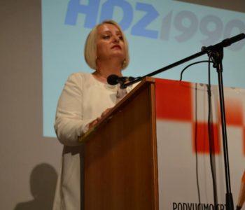 Zastupnica HDZ-a 1990. u Parlamentu BiH Diana Zelenika pita Čovića gdje su granice trećeg entiteta