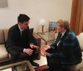 Njemačka veleposlanica izrazila potporu nastojanjima Hrvata da se izbore za ravnopravnost u BiH