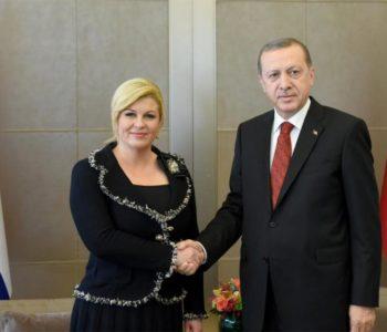 Kolinda i Erdogan žele pomiriti Hrvate i Bošnjake