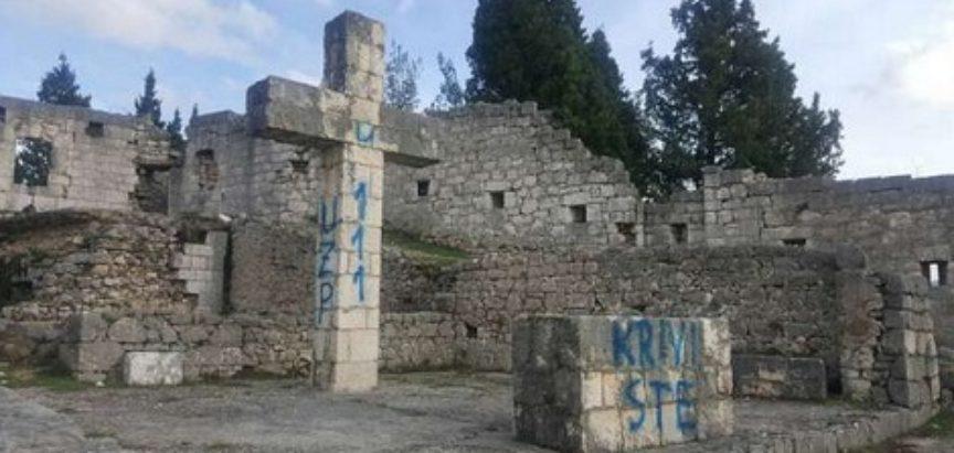 Na Križevcu iznad Stoca devastiran križ i oltar