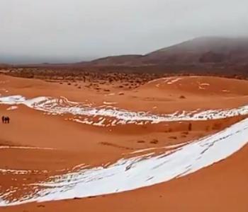 Snijeg u Sahari