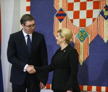 Vučić stigao u Hrvatsku
