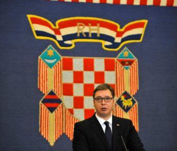 Vučić: Čović je rado viđen gost u Srbiji