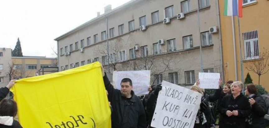 "Vlada HNŽ-a na cesti ostavila radnike Hotela ""Ero"""