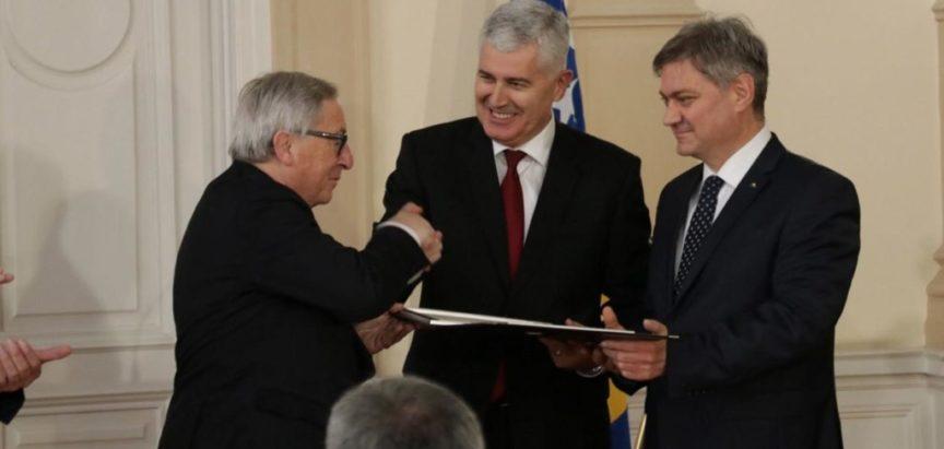 Jean-Claude Juncker: Ovaj put na koji ste krenuli je prirodan put za Bosnu i Hercegovinu jer vi jeste Europa
