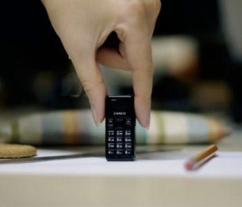Britanska kompanija napravila najmanji mobitel na svijetu