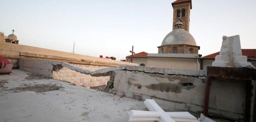 Turski bombarderi srušili najstariju crkvu na svijetu