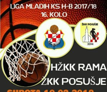 HKK Rama i HŽKK Rama : Najava košarkaških utakmica