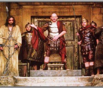 """Mladi iz župe Gračac izvode predstavu """"Poncije Pilat"""""""