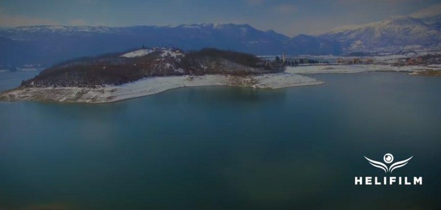 Video: Ramsko jezero u zimskom izdanju – 4K – Snimci iz zraka