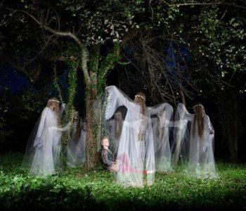 Noćno lice žene: suvremeno kazivanje o vilama, vješticama i morama