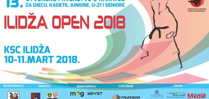 """Karate klub Empi sudjeluje na """"Ilidža open 2018."""""""