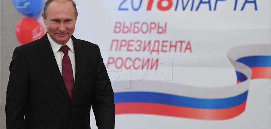 Putin dobio 76,67 posto glasova, izbori potvrdili da je jači nego ikad