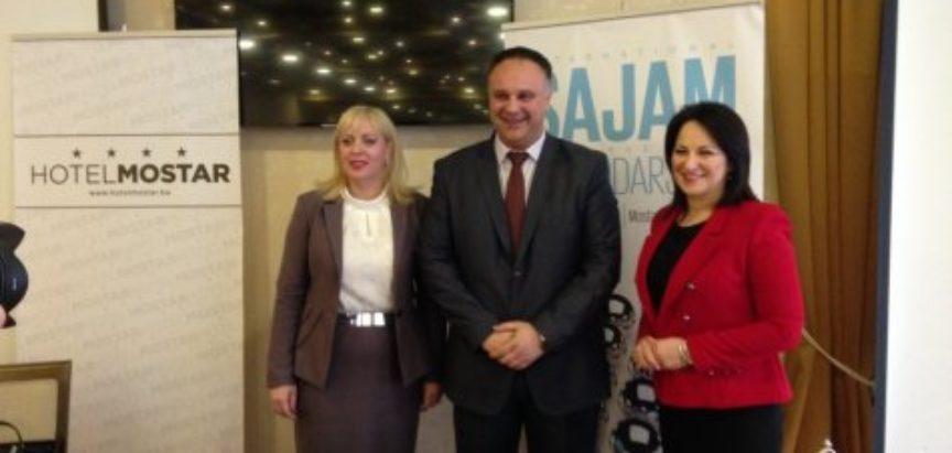 Predsjednik Srbije Aleksandar Vučić otvara ovogodišnji Mostarski sajam
