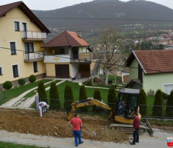 Foto: Izgradnja vodovoda za naselje Paljike