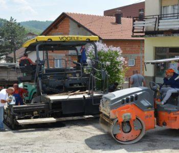 Foto: Sanacija Ulice Vitomira Lukića u Prozoru