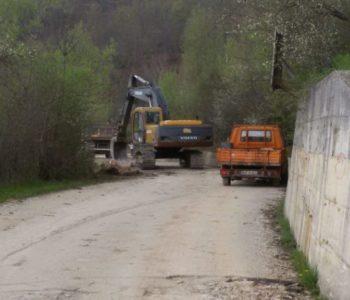 Elektroprivreda vrši sanaciju puta Mluša – brana