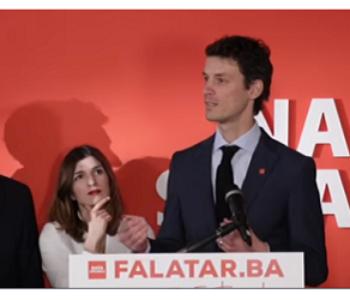 Započele kandidature: SLUŽBENO Boriša Falatar iz Naše stranke kandidat za Predsjedništvo iz reda Hrvata